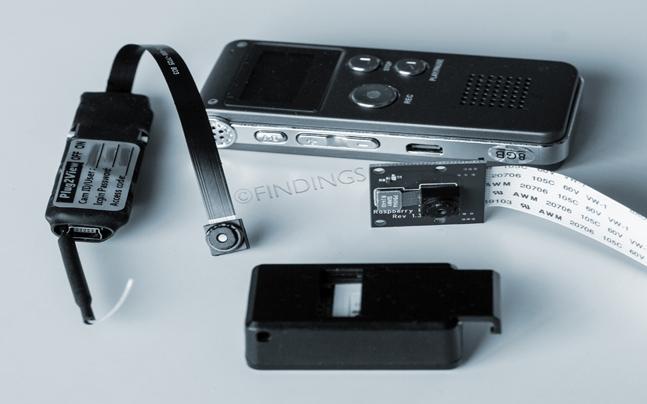 Opsporing afluister-en opnameapparatuur